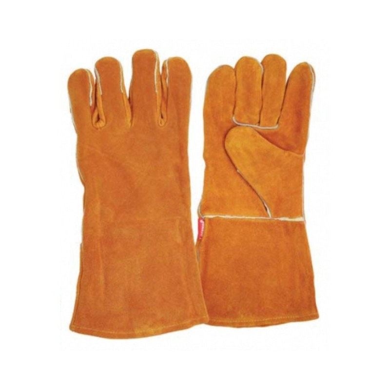 BENMAN LEATHER GLOVES FOR WELDING XL 77307 GLOVES - SLEEVES